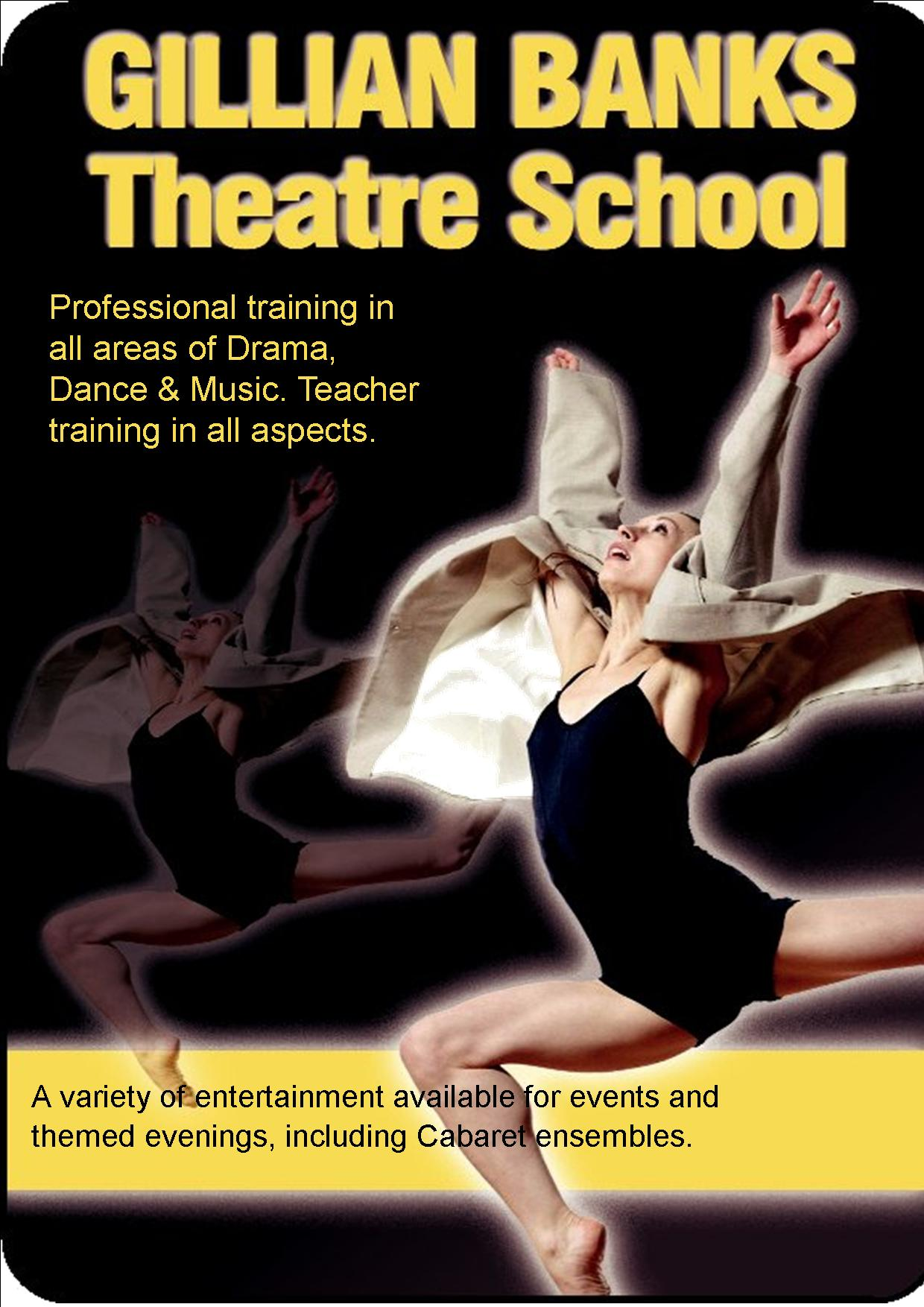 gillian banks theatre school advert