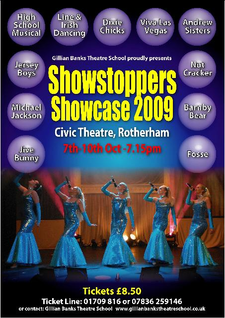 Showstoppes 2009 Poster