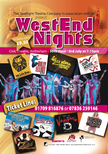 West End Nights 2010 Poster